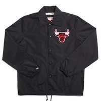 Chicago Bulls Assistant Coach Jacket Black