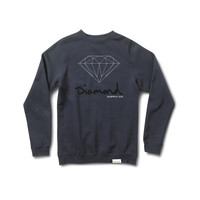 OG Brilliant Crewneck Sweatshirt in Navy
