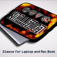 Led zeppelin logo Sleeve for Laptop, Macbook Pro, Macbook Air (Twin Sides)