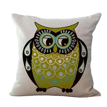 Funny Owl Pillow Cases