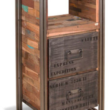 Boatwood Industrial Steel Chest Drawers