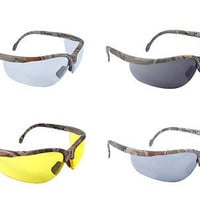 Radians Rad-Journey Safety Eye Protection Eyewear Work Glasses RealTree Camo JR4