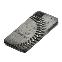 Baseball Case for iPhone Case-Mate iPhone 4 Cases from Zazzle.com