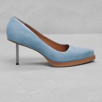 Pointed suede pumps | Pointed suede pumps | & Other Stories