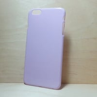 iphone 6 Plus (5.5 inches) hard plastic case - Lilac