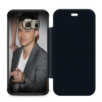 Prince Royce Leather Wallet Flip Case Samsung Galaxy S6 Edge