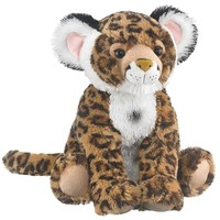 "18"" Jaguar Stuffed Animals Floppy Zoo Animal Conservation Collection"