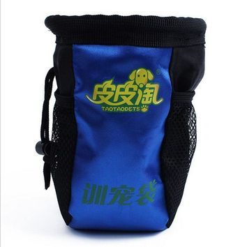 Dog Accessories Pet Dog Cat training Snack bags food  Pockets Can hang on the waist Pet Products Dog training Supplies