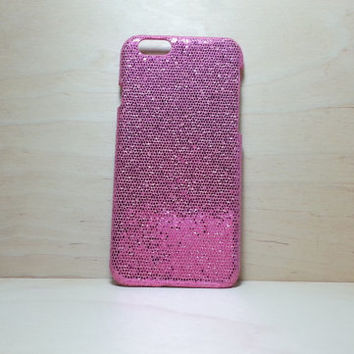 Glitter Case for iphone 6 (4.7 inches) - Dark Pink