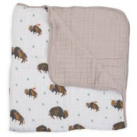 Little Unicorn Fitted Quilt - Bison