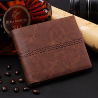 Mens Cool Leather Unique wallet