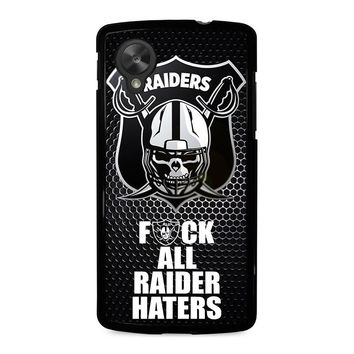 OAKLAND RAIDERS 2 Nexus 5 Case Cover