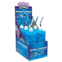 Super Pet Critter Canteen Bottle Display - 32 oz / 6-Pack