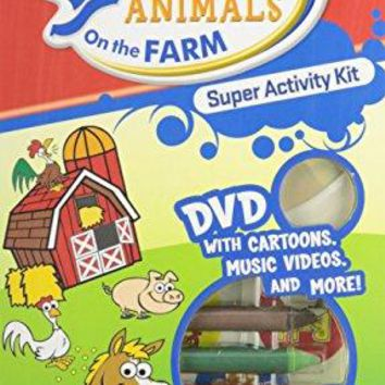 Hooked on Animals on the Farm Super Activity Kit