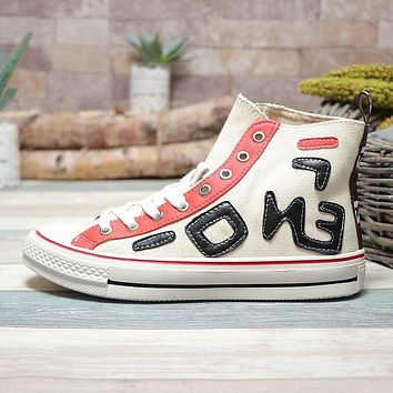Fendi x Converse Chuck Taylor 1970s All Star Hi Top White
