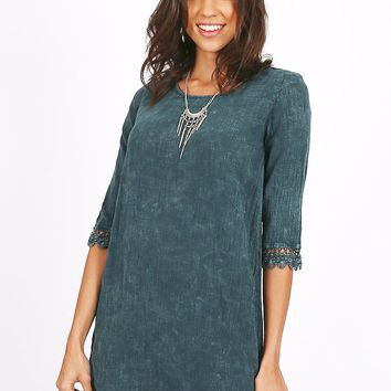 Brightside Crochet Detail Dress