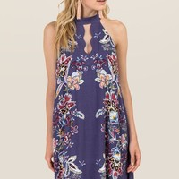 Allie Gigi Floral Shift Dress