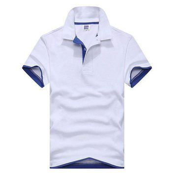 CREYLD1 2018 tommis Brand clothing New Men Polo Shirt Men Business & Casual solid male polo shirt Short Sleeve breathable polo shirt