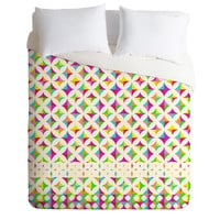 Aimee St Hill Color Block Duvet Cover