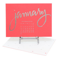 Sugar Paper Bright Desk Calendar