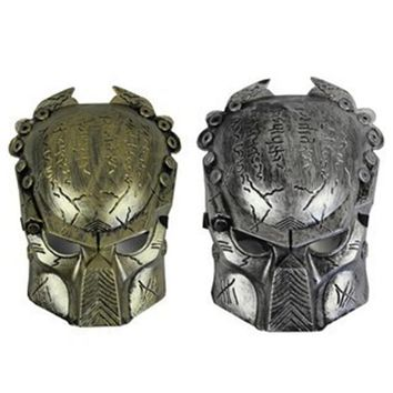 Robot Warrior Mask Batman Costume Cosplay Movie Adult Party Masquerade Rubber Latex Masks for Halloween Cool mask F2