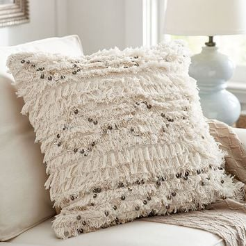 Moroccan Wedding Blanket Pillow Cover