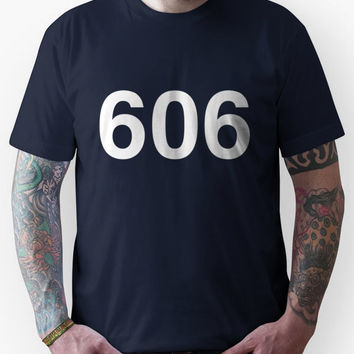 FOO FIGHTERS DAVE GROHL STUDIO 606 (white text) Unisex T-Shirt