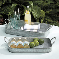 Set of 2 Hayden Nesting Trays