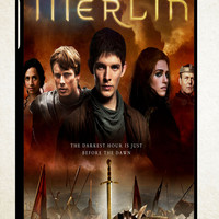 Merlin Fantasy Adventure Television Z0556 iPad 2 3 4, iPad Mini 1 2 3, iPad Air 1 2 , Galaxy Tab 1 2 3, Galaxy Note 8.0 Cases