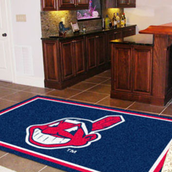 "MLB - Cleveland Indians Rug 5x8 60""x92"""