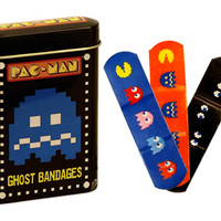 Pac-Man Bandages in Tin