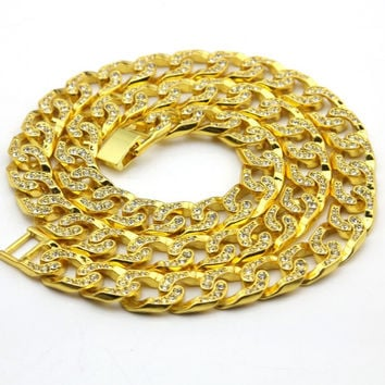 Cuban Ducé Link Iced Out Chain