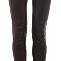 Stretch Lambskin Leggings