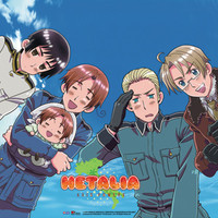 Hetalia Group Wall Scroll