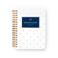 2016-2017 Academic Daily Simplified Planner by Emily Ley - Pineapples