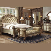 Acme Vendome Gold Bedroom Set Collection