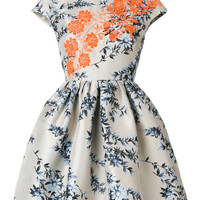 Fendi Floral Flared Dress - Farfetch
