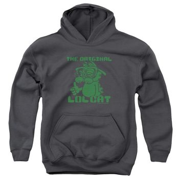 Garfield - Og Lol Youth Pull Over Hoodie