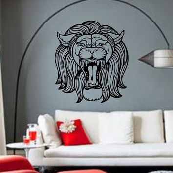 Lion Face Version 112 Sticker Wall Decal Animal King of the Jungle Art Graphic
