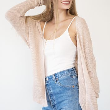 Lora Cardigan - Blush