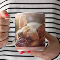 Your dog on a Coffee Mug - Photo Ceramic Mug  - Design your own mug - Personalized coffee mug - Your dog on a mug - dog mug - photo mug