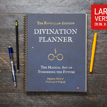 Harry Potter Planner - Ravenclaw / Thick / Large