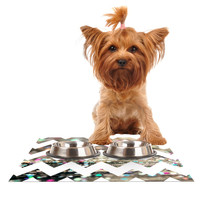 "Beth Engel ""After Party Chevron"" Dog Place Mat"