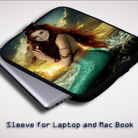 Ariel Once iPad 2 3 4 Sleeve for Laptop, Macbook Pro, Macbook Air (Twin Sides)