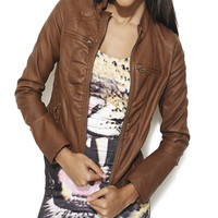 Side Ruched Fitted Jacket | Shop Jackets at Wet Seal
