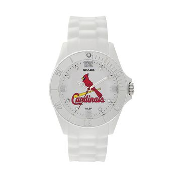 Sparo Cloud St. Louis Cardinals Women's Watch (White)