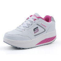 Slimming women running shoes women sneakers Women Platform Fitness Shoes Lady Swing Fitness shoes A681