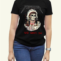 Kanye West Yeezus Black Women Clothing High Quality tee S,M,L and XL (Y7)
