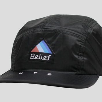 Belief / Shop: Parachute 5 Panel - Black