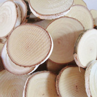 Tree Slices, Wood Slices, Wood Discs, Blank Wood Rounds, Craft Wood